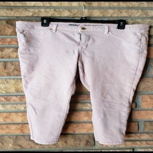 Mossimo Crop Peach color Jeans